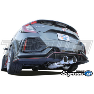 GREDDY SUPREME SP EXHAUST TWIN TIPS HONDA CIVIC TYPE R FK8 17+