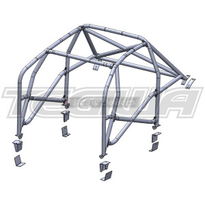 SAFETY DEVICES MULTI POINT BOLT-IN ROLL CAGE H035 HONDA CIVIC TYPE R EP3 01-05 MSA APPROVED