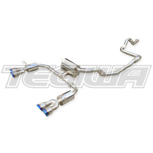 Invidia Q300 Cat-Back Exhaust Honda Civic Type-R FK8