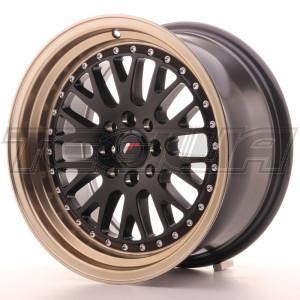 Japan Racing JR10 Alloy Wheel 16x8 - 4x108 / 4x100 - ET20 - Black+Bronze