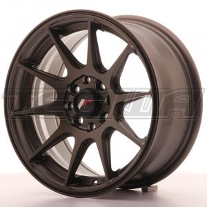Japan Racing JR11 Alloy Wheel 15x7 - 4x114.3 / 4x100 - ET30 - Matt Bronze