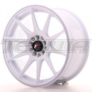 Japan Racing JR11 Alloy Wheel 17x8.25 - 5x112 / 5x114.3 - ET35 - White