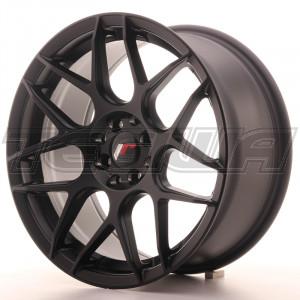 Japan Racing JR18 Alloy Wheel 17x8 - 5x114.3 / 5x100 - ET35 - Matt Black