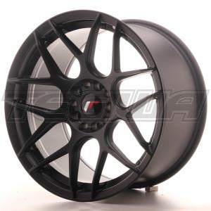 Japan Racing JR18 Alloy Wheel 18x9.5 - 5x120 / 5x100 - ET35 - Matt Black
