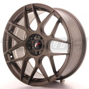 Japan Racing JR18 Alloy Wheel 19x8.5 - 5x120 / 5x100 - ET35 - Bronze