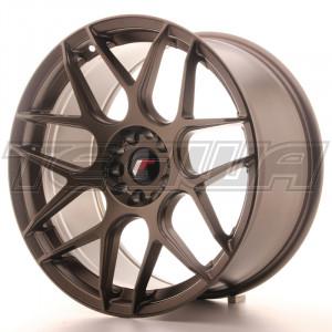 Japan Racing JR18 Alloy Wheel 19x9.5 - 5x100 / 5x120 - ET35 - Bronze