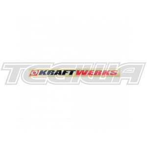 "KRAFTWERKS 12"" LARGE DECAL"