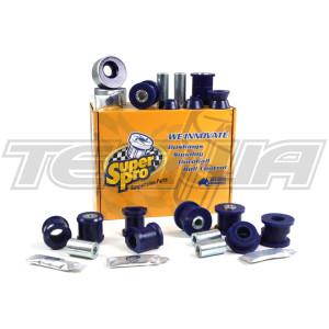 SUPERPRO TYPE R TROPHY CASTER INCREASE FULL BUSH KIT CIVIC EP3 01-06