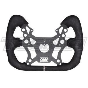 OMP OD/2044/N  RACING 310 ALU GT STEERING WHEEL ALUMINIUM/SUEDE for RACE CAR