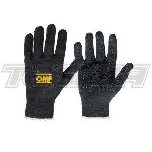 OMP NB/1885  RACING TECHNICAL SHORT GLOVES for MECHANIC PIT CREW GARAGE S-XL