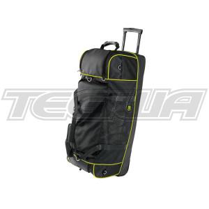 OMP ORA/2969  Racing Pitcrew Team Travel Large Holdall Bag Black/Yellow 90x38cm
