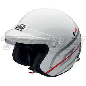 OMP SC795  Racing J-R HANS Jet Open Face Race Rally Helmet FIA 8859-2015 Approved