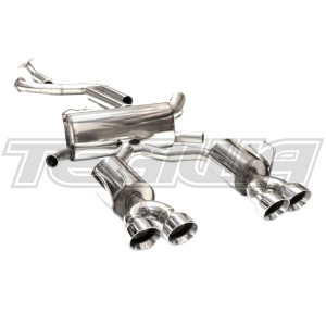 MARTELIUS CAT BACK EXHAUST SYSTEM HONDA CIVIC TYPE R FK2 15+ LHD