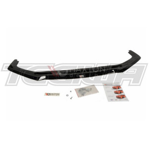 MAXTON DESIGN FRONT SPLITTER LIP V.2 HONDA CIVIC TYPE R FK2 15+