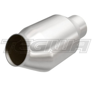MAGNAFLOW 59975 200 CELL CPSI UNIVERSAL METALLIC HIGH FLOW SPORTS CAT 2.25 INCH 57.15MM