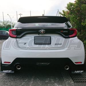 MFF Mud Flap Set Carbon Design Toyota GR Yaris 20+ Shorter Version