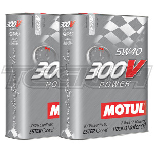 MOTUL 300V POWER 5W40 SYNTHETIC ENGINE OIL
