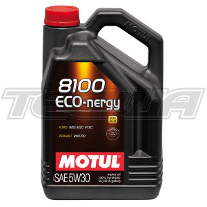 MOTUL 8100 ECO-NERGY 5W30 SYNTHETIC ENGINE OIL 1 LITRE NO FILTER