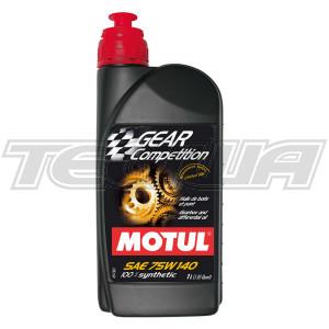 MOTUL GEAR COMPETITION 75W140 SYNTHETIC GEAR OIL