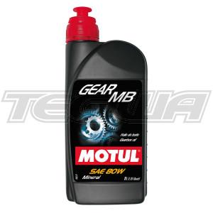 MOTUL GEAR MB 80W MINERAL GEAR OIL 1 LITRE