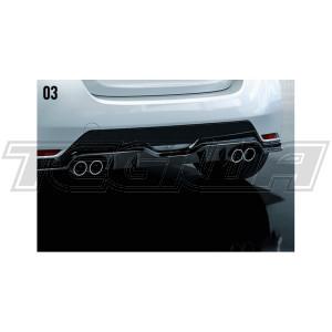 TRD GR Rear Bumper Splitter/Diffuser Toyota Yaris GR 20+