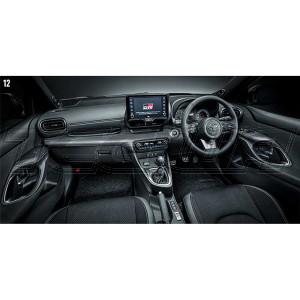 TRD GR Carbon Fibre Interior Panel Set Toyota Yaris GR 20+