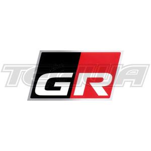 TRD GR Discharge Sticker Toyota Yaris GR 20+