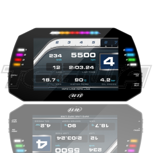 AIM MXG 1.2 RACING DASH DATA LOGGER