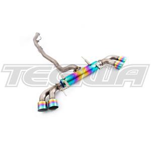 Invidia Titanium Cat-Back system Nissan R35 GT-R 09+