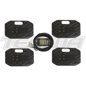 PROFORM 2250KG RACE CAR CORNER WEIGHTING SCALES KIT WIRED
