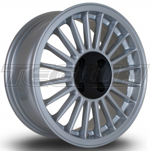 ROTA R20 ALLOY WHEEL 15 X 6 4X100 ET29 571 SILVER/BLACK CENTRE