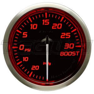 DEFI 52MM RACER GAUGES N2 RED