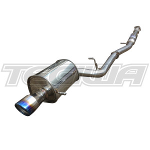 Invidia G200-Ti Cat-Back Exhaust Subaru Impreza WRX STI 01+