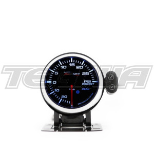 DEPO RACING BOOST PSI STEPPER MOTOR GAUGE PEAK 52MM