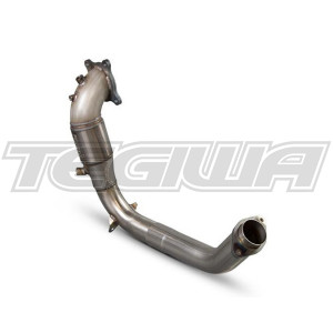 SCORPION SPORTS CAT DOWNPIPE HONDA CIVIC TYPE R FK2 TURBO 15+
