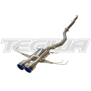 INJEN DUAL TI TIPS EXHAUST HONDA CIVIC TYPE R FK8 17+