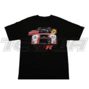 SPEEDFACTORY 2018 OUTLAW COMIC BLACK T-SHIRT