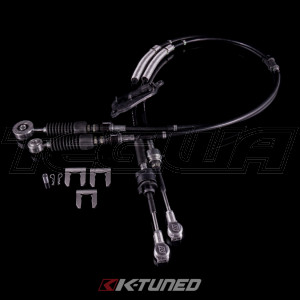 K-Tuned Shifter Cables - OEM Spec with Spherical Bushing - 8th Civic Si - 06-11 Civic