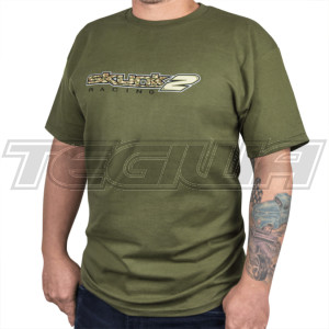 Skunk2 Camo Logo Men's T-Shirt Green XXXL
