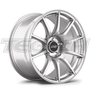 APEX ALLOY WHEEL SM-10 18 X 10.0 ET25 RACE SILVER 5X120MM 72.56MM