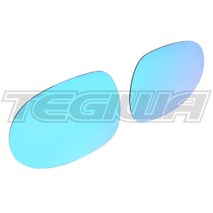 SPOON SPORTS BLUE WIDE SIDE MIRROR GLASS HONDA CIVIC EG 92-95
