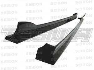 Seibon AE-Style Carbon Fibre Side Skirts Mazda RX-8 04-08