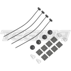 Tegiwa Slim Fan Low Profile Universal Fitting Fixing Kit Clips Ties Support