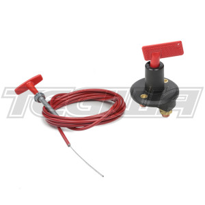 TEGIWA BATTERY MASTER CUT-OUT SWITCH ISOLATOR KILL SWITCH & 10FT PULL CORD - 2 POLE