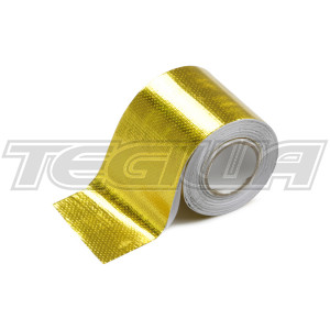 Tegiwa Reflective Automotive Self Adhesive Heat Tape Fibreglass 5M - Gold