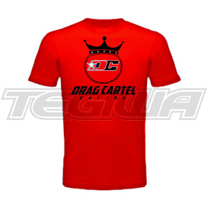 DRAG CARTEL DC CROWN LOGO SHIRT RED