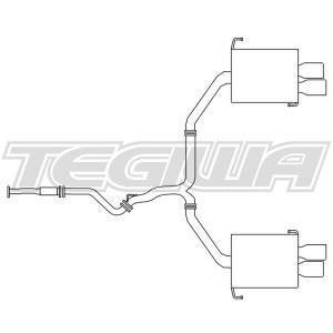 Revel Medallion Touring-S Exhaust System Subaru Impreza WRX / Sti 15-17