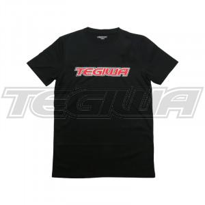 TEGIWA CLASSIC LOGO T-SHIRT BLACK