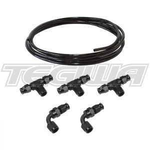 TEGIWA AIR JACK ALUMINIUM HARDLINE FITTING KIT (AN6)