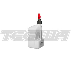 TEGIWA 20 LITRE TUFF JUG - WHITE/RED DRY BREAK CAP